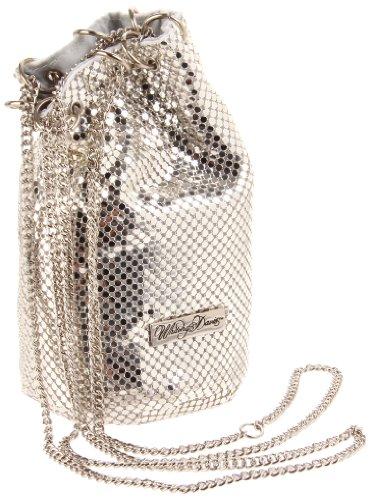 Silver amp; Bag Chain Bucket Women's Whiting Mail Davis 6wzd0UxU
