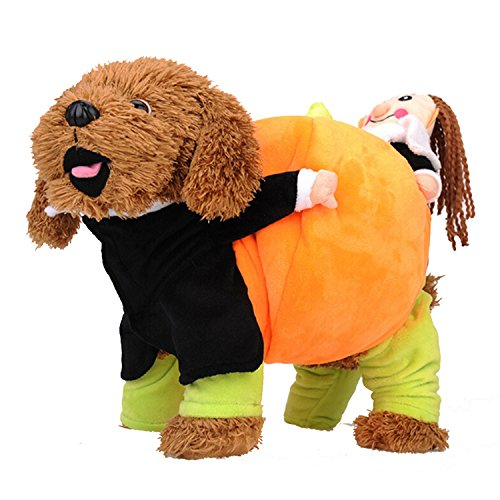 Valor Soul Puppy Dog Pumpkin Halloween Cosplay Clothes Pet Halloween Costumes (Custom Halloween Costumes For Dogs)