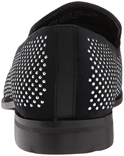 Studded Adams Kjørestil Stacy Sprade Ornament Menns Sort Sølv Dagdriver on Slip 7tx7w
