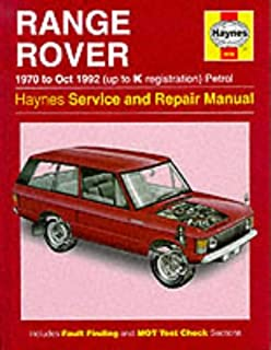 Restoration manual range rover restoration manuals dave pollard range rover 1970 to oct 1992 up to k registration petrol service repair fandeluxe Image collections