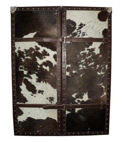 Artikle Leather Bar Cabinet
