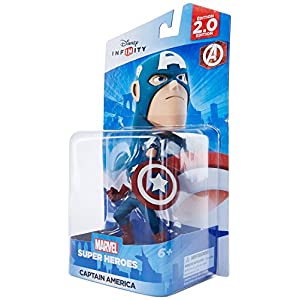 Disney Infinity: Marvel Super Heroes (2.0 Edition) Captain America Figure – Not Machine Specific