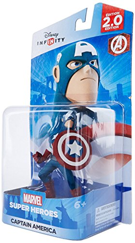 Costumes Video Game Popular (Disney Infinity: Marvel Super Heroes (2.0 Edition) Captain America Figure - Not Machine)