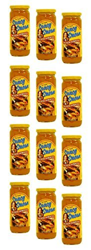Saucy Susan Peach and Apricot Spicy Sauce, 19 Ounce Kosher -- 12 Per Case.