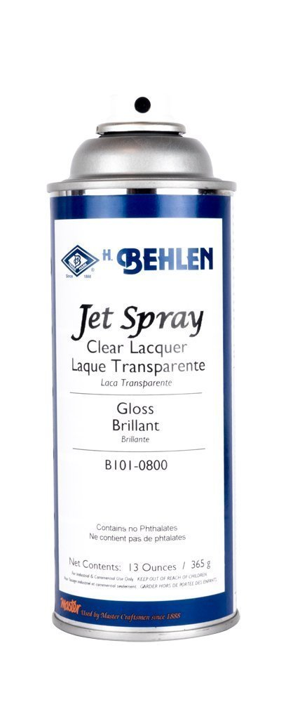 Behlen Jet Spray Clear Lacquer - Gloss (12-Pack)