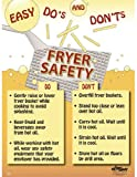 National Safety Compliance Fryer Safety Poste - 18 X 24 Inches