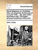 Diaria Britannic, John. Cotes, 1140837222