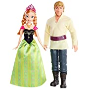 Amazon Lightning Deal 80% claimed: Disney Frozen Anna and Kristoff Doll 2-Pack