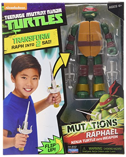 Teenage Mutant Ninja Turtles Turtle to Weapon Raph Mutations Deluxe Figures