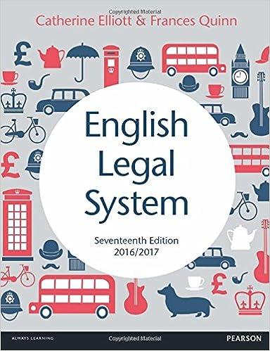 English Legal System - Single Unit