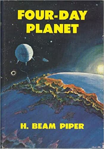 Image - Four-Day Planet by H. Beam Piper, Putnam, 1961