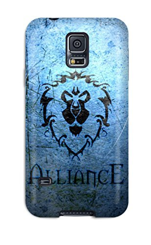 Premium LNTmL1771Genpb Case With Scratch-resistant/ Wow Alliance Case Cover For Galaxy S5