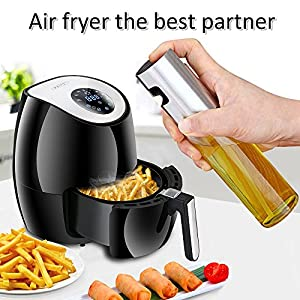 Olive Oil Sprayer Oil Dispenser Oil Trigger Vinegar Spray Bottle for Barbecue, Cooking and Making Salad Seasoning Kitchenware Tools