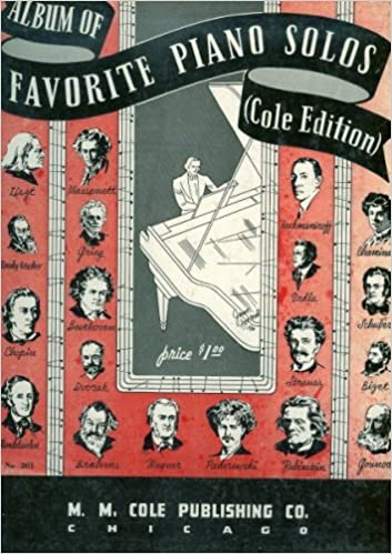 Album of Favorite Piano Solos (Cole Edition), Various