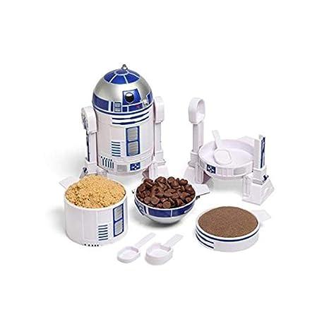 ThinkGeek Star Wars R2-D2 Measuring Cup Set - Body Built from 4 Measuring  Cups 8da96a1536c