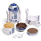 ThinkGeek Star Wars R2-D2 Measuring Cup Set - Body Built from 4 Measuring Cups and Detachable Arms Turn Into Nesting Measurin