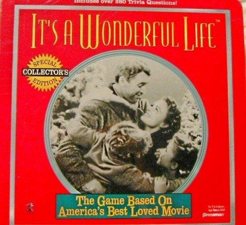 It's a Wonderful Life Trivia Game in Tin by Pressman