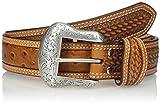 Nocona Men's Cognac Ostrich Belt