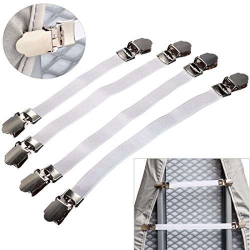 KINGSO Adjustable Ironing Fasteners Elastic