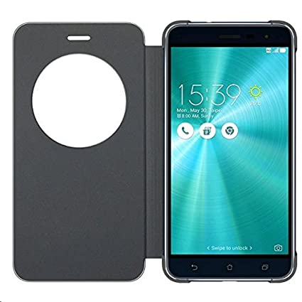 new products 69d9c 63884 Asus Zenfone 3s Max Flip Cover by Newlike for Asus: Amazon.in ...