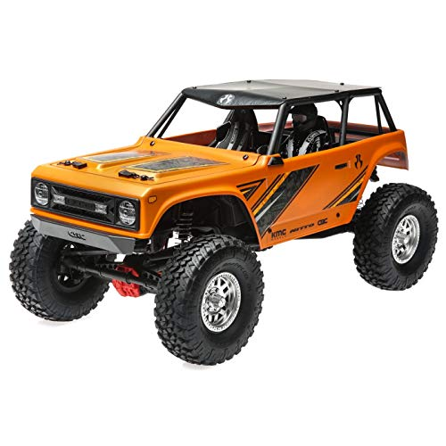 - Axial Wraith 1.9 1/10 Scale Electric 4WD RTR RC Rock Crawler with 2.4GHz Tx/Rx System, Orange