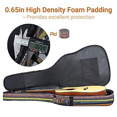 CAHAYA Bohemian Guitar Bag Vintage Guitar Case 3