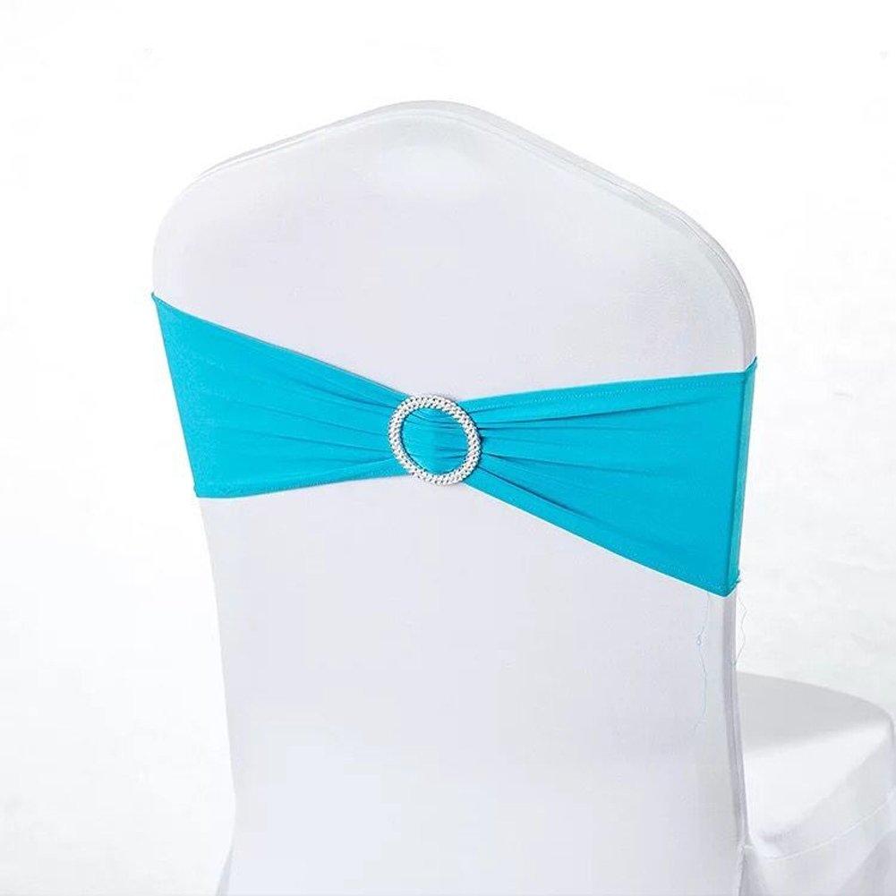 Excellent 20 Brown Miraise Spandex Stretch Chair Sashes Bows Elastic Lamtechconsult Wood Chair Design Ideas Lamtechconsultcom
