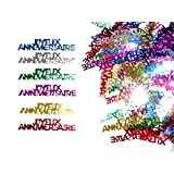 Aptafetes - Confettis de table joyeux anniversaire (14 gr)