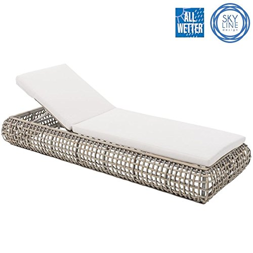 SKYLINE DESIGN® DYNASTY LOUNGE LIEGE SINGLE LOUNGER