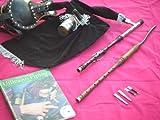 Celtic-Instruments.com Irish Uilleann Bagpipe Practice Set 3 Key Chanter Booklet