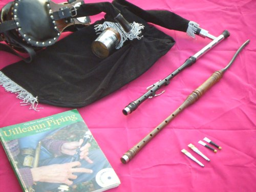 Irish Uilleann Bagpipe Practice Set 3 Key Chanter Booklet