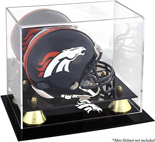 Mounted Memories Denver Broncos Mini Helmet Display Case