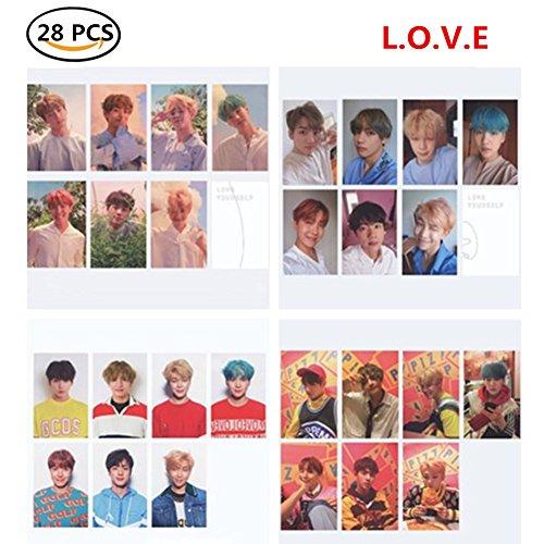 Yourself Card (Bosunshine BTS [Love Yourself 承 'HER' ] L O V E 4 Versions Collection Cards (L.O.V.E))