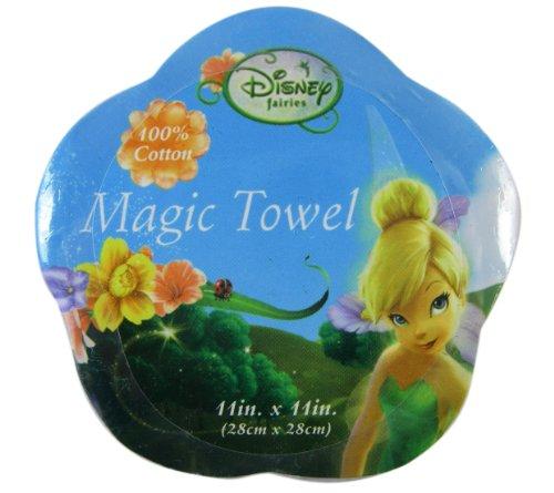 Disney Fairies Tinkerbell Magic Towel - Tinkerbell Hand Towel (Just Add Water!)]()
