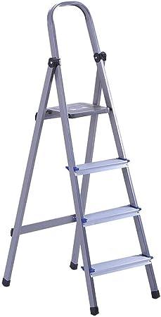 Jia He Taburete de plástico para niños Taburete de Paso, Escalera Plegable del hogar Grueso Escalera de Aluminio heces Espiga portátil General Perfil Industrial (Size : 39x67x135cm): Amazon.es: Hogar