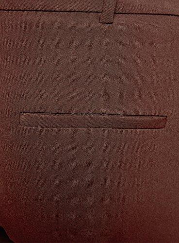 Donna Stretti Collection con Cintura Marrone Pantaloni 3900n oodji tHZw5qq