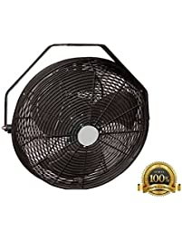 shop amazon com wall mounted fans