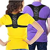 """Posture Corrector & Back Support Brace for Women and Men by HONGJING, Figure 8 Clavicle Support Brace is Ideal for Shoulder Support, Upper Back & Neck Pain Relief(chest 28-42"""")"""