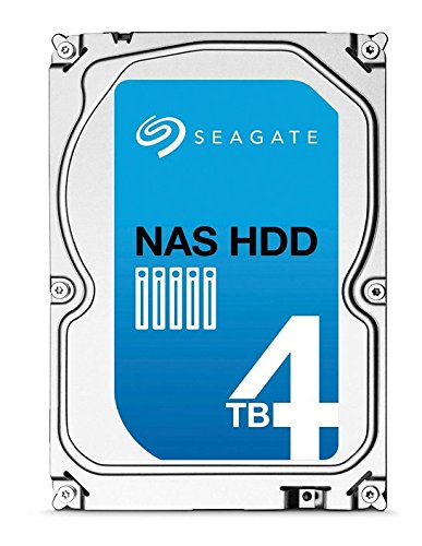 (Old Model) Seagate 4TB NAS HDD SATA 64MB Cache 3.5-Inch Internal Bare Drive (ST4000VN000) by Seagate