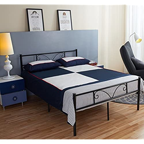 Full Size Beds Furniture Amazon Com
