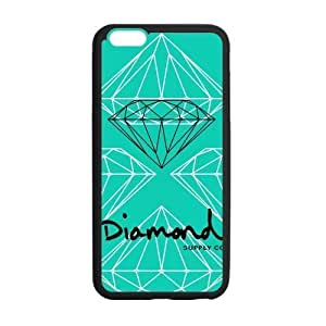 HipsterOne Custom Supply Diamond Co Back Cover Case for iPhone 6 Plus (5.5 inch; Laser Technology)