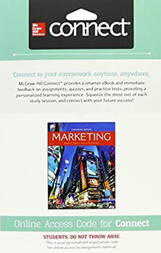 Marketing with connect access card array amazon com connect 1 semester access card for marketing rh amazon com fandeluxe Gallery