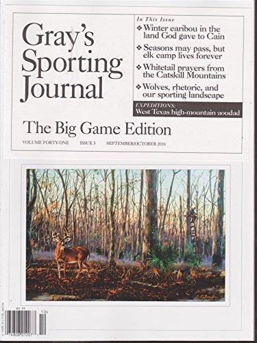 (Gray's Sporting Journal Magazine September/October 2016)