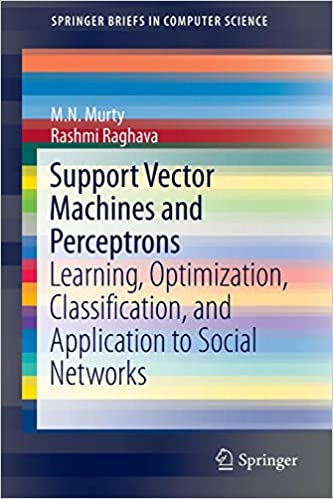 Support Vector Machines and Perceptrons: Learning, Optimization