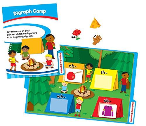 CDP140310 - Carson Dellosa CenterSOLUTIONS Language Arts File Folder Games ()
