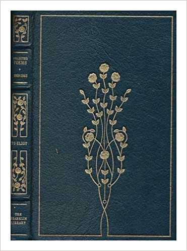 Collected Poems 1909 1962 T S Eliot Amazoncom Books