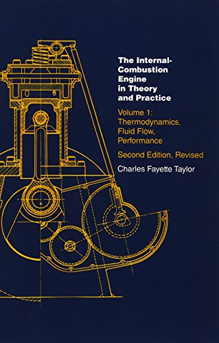 The Internal Combustion Engine in Theory and Practice: Vol. 1 - 2nd Edition, Revised: Thermodynamics, Fluid Flow, Perfor