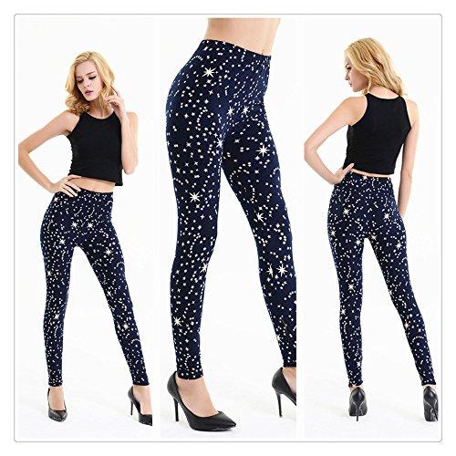 Lace Applique Yoga Pant, Litetao Women Plus Size Trousers Gym Sport Elastic Leggings (Free Size, Multicolor - Apparel Ccc