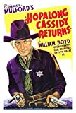 Hopalong Cassidy Returns Poster 27x40 William Boyd George