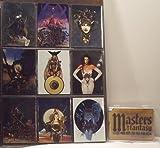 Masters of Fantasy Metallic Fantasy Art Trading Cards Base Set